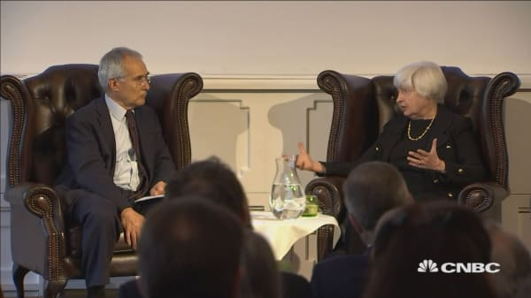 Fed Chair Janet Yellen: Major banks are very much stronger this year