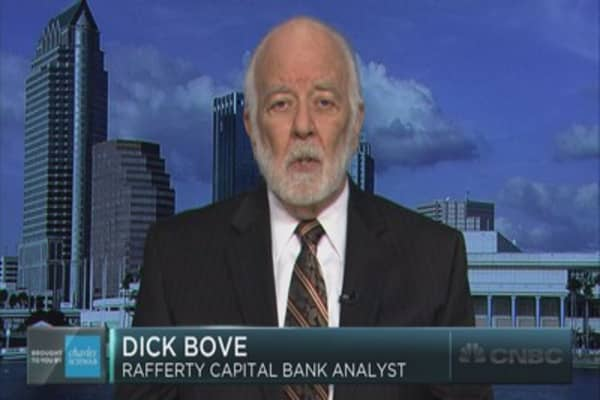 Dick Bove on the mistake bank CEOs are making