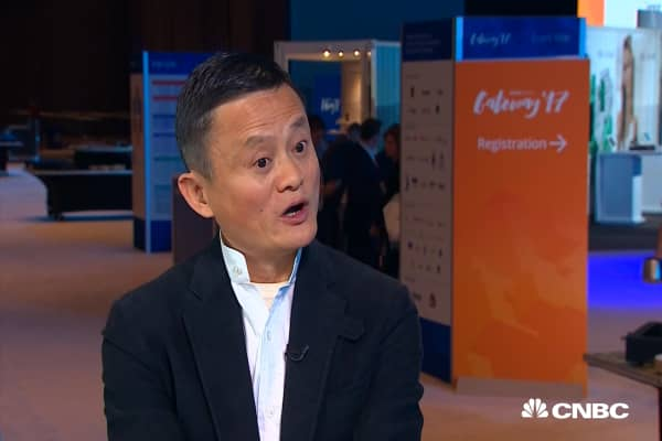 Alibaba founder Jack Ma sees this 1 potential benefit to AI taking our jobs