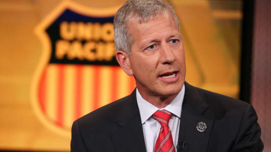 Lance Fritz, CEO of Union Pacific