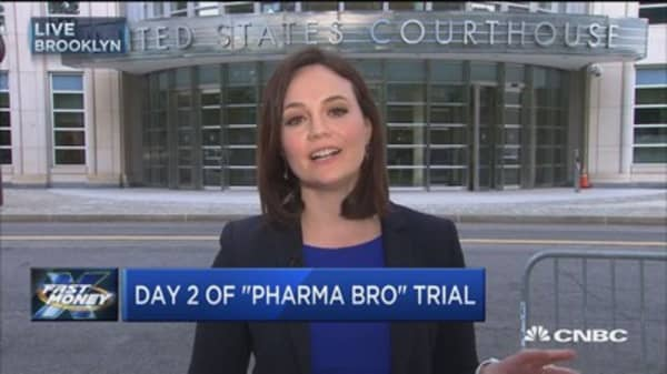"""""""Pharma Bro"""" Martin Shkreli back in court"""