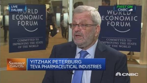 Teva Pharma CEO on health-care bill and disruption