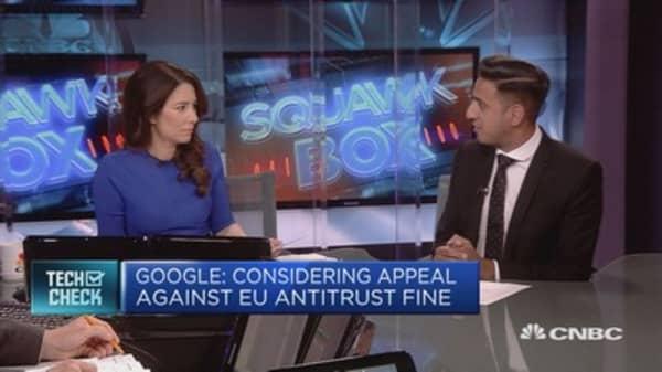Google: Considering appeal against EU antitrust fine