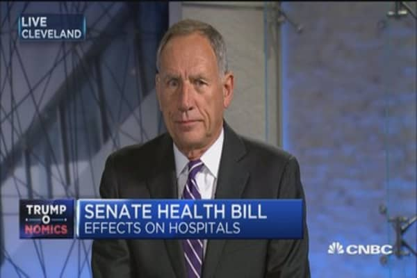 Cleveland Clinic's Tony Cosgrove: Senate health-care bill doesn't tackle rising costs