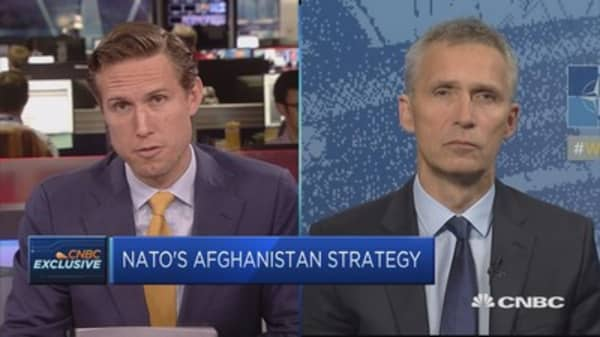 NATO Secretary General: NATO looking to possibility of increasing presence in Afghanistan