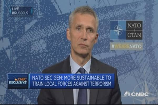 Convinced there is political oversight on US military decisions: NATO