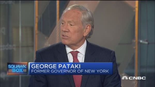 George Pataki: Money to pay Puerto Rico debt is there but control board is the problem