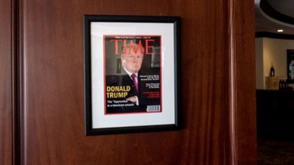 Trump Org told to remove phony Time magazine issues