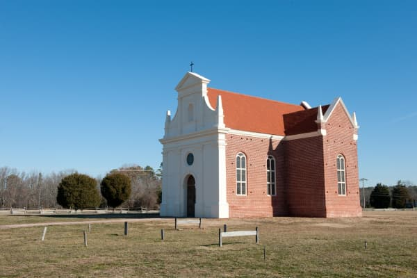 Historical church in St Mary's County, Maryland.