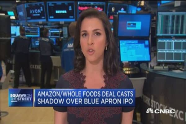 Blue Apron slashes IPO pricing expectations
