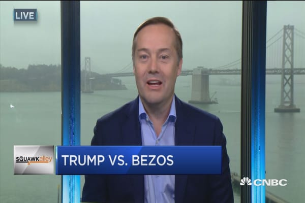 Silicon Valley investor: Trump's tweets about Amazon taxes are 'fake news'