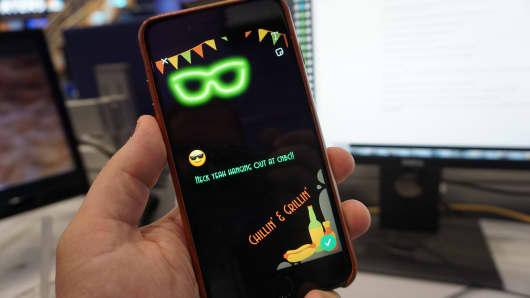 CNBC Tech: Snapchat Filter 8