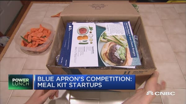 Blue Apron prepares to IPO as meal delivery space heats up