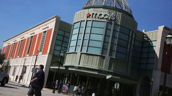 A Macy's store at CityPlace in West Palm Beach, Florida.