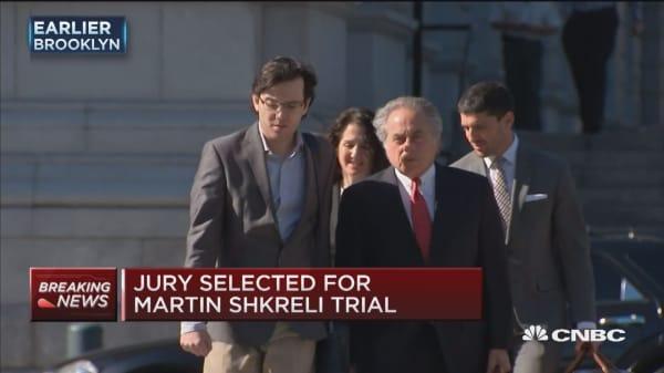 Jury selected for Martin Shkreli case