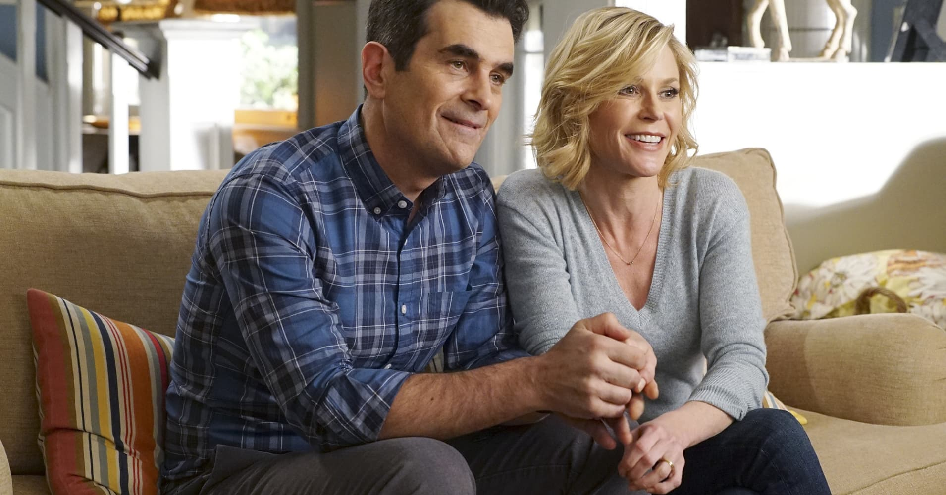 """Phil and Claire Dunphy on ABC's """"Modern Family."""""""
