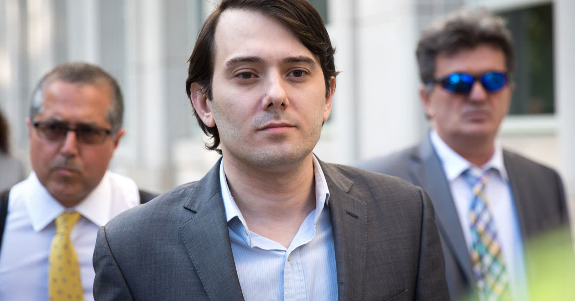 Judge revokes Martin Shkreli's bail after Facebook post offered bounty for Hillary Clinton's hair