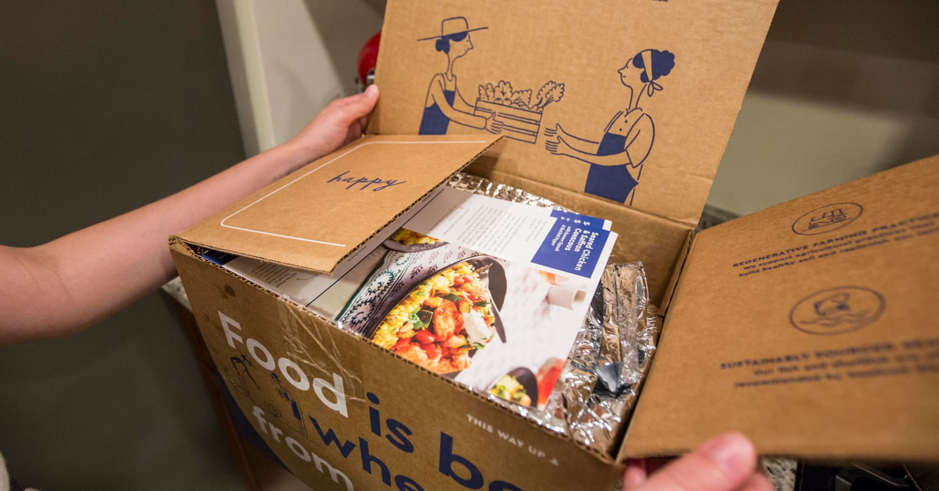 Trump wants to deliver Blue Apron-style 'America's Harvest Box' to food-stamp recipients