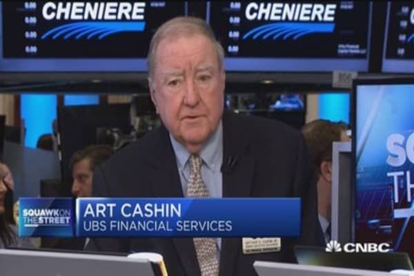 UBS' Art Cashin says markets could potentially become more volatile into holiday weekend