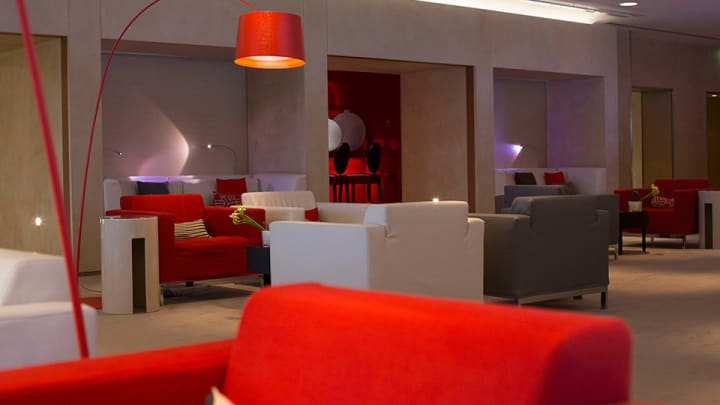 Air France Le Premiere Lounge at Paris Charles DeGaulle Airport.