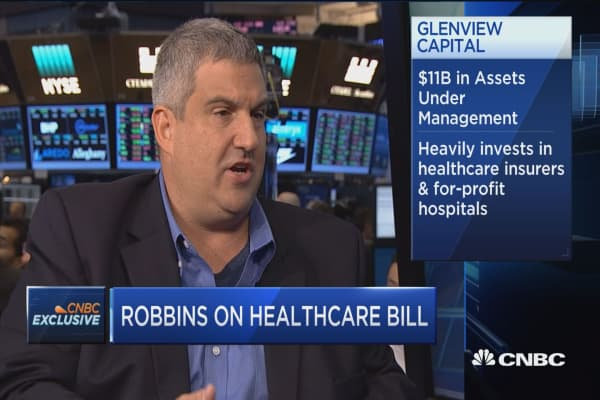 Larry Robbins: Don't get caught up in 'actuarial gobbledygook' with CBO health-care bill score