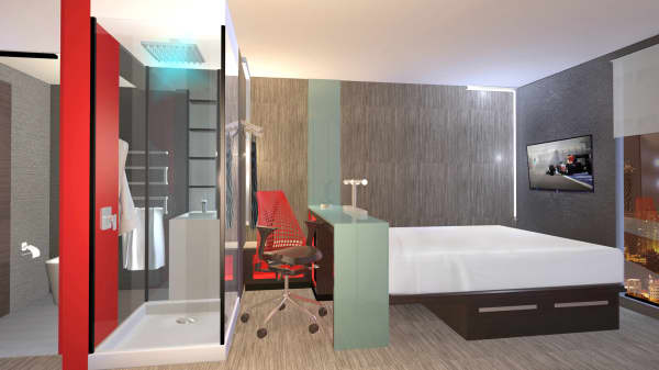 Business travelers beware: Hotels are redesigning room layouts