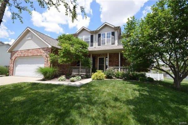 A home in Smithton, Illinois.