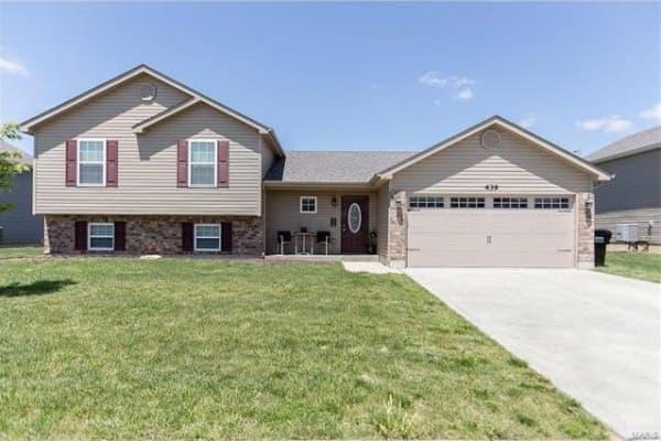 A home in Wentzville, Missouri.