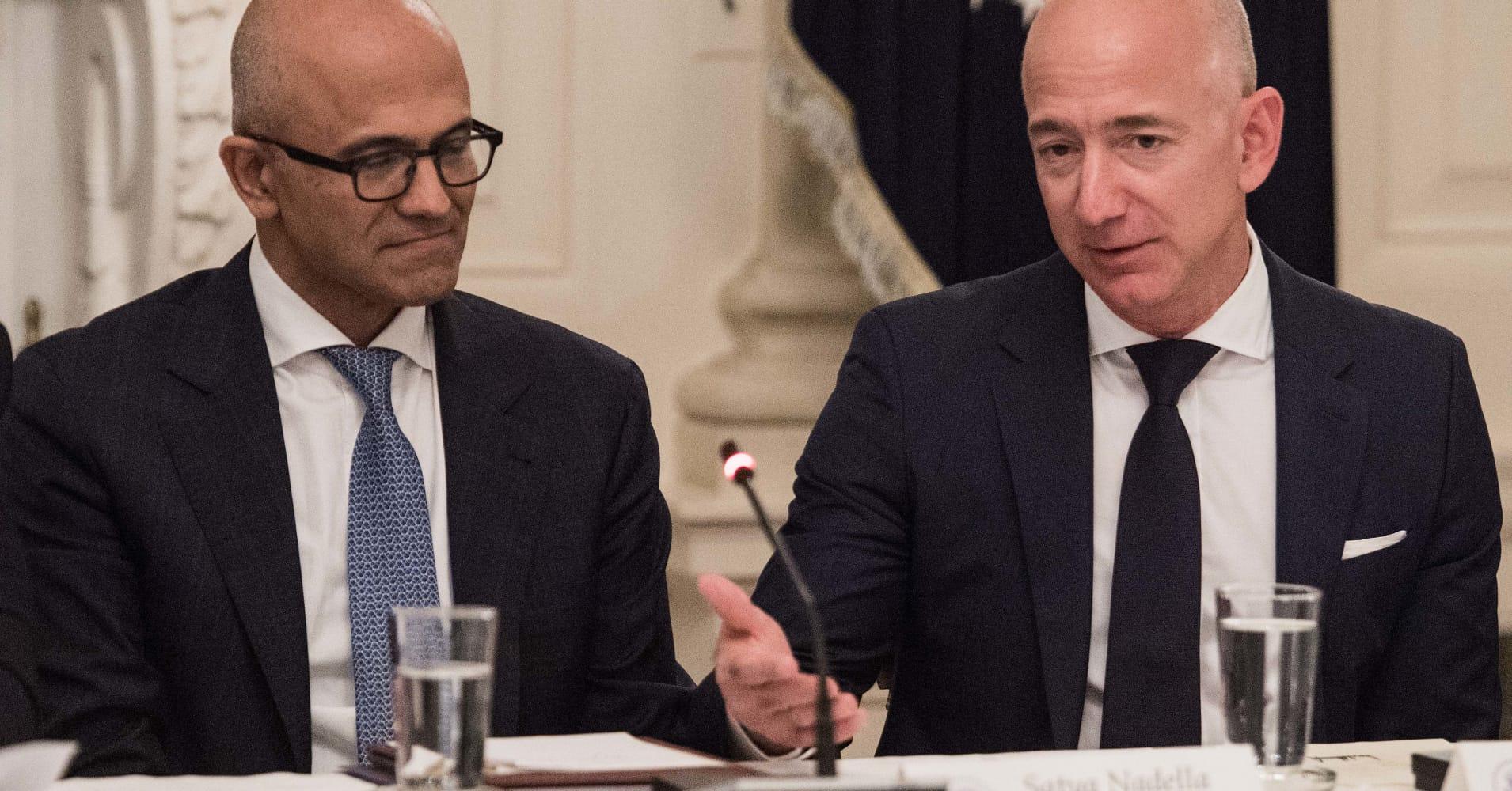 Amazon's favorite poaching ground for senior executives is Microsoft