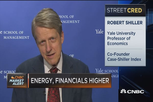 Robert Shiller: Market valuations are a bit concerning