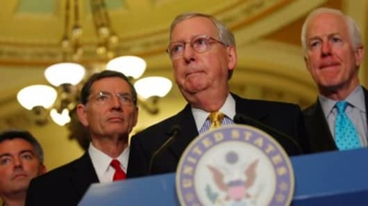 Even If The Gop Health Bill Passes Mitch Mcconnell Must Go