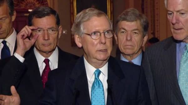 Senate GOP may look to Democrats to help fix Obamacare if McConnell can't strike a deal