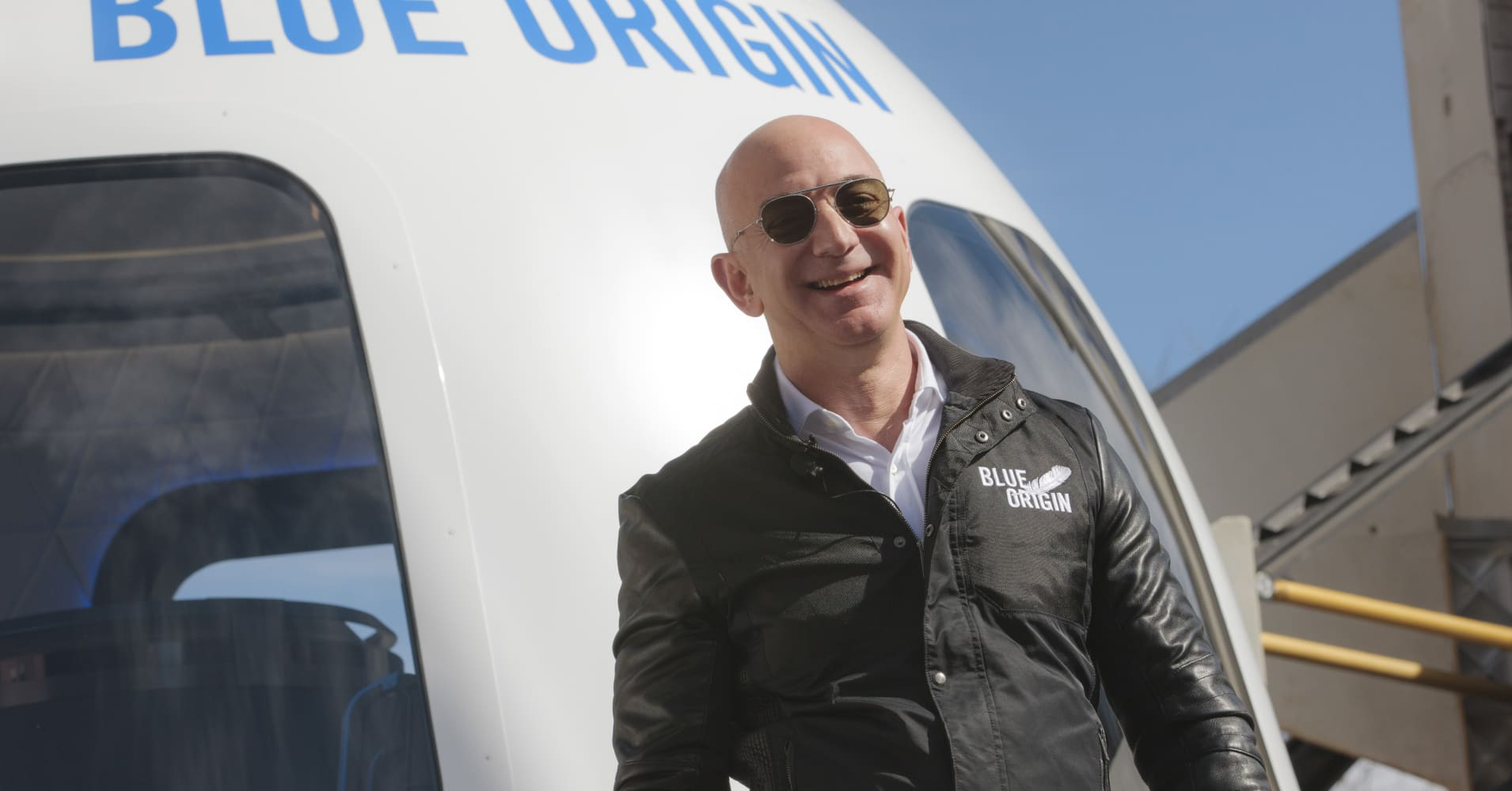 Jeff Bezos explains why Blue Origin is 'the most important work I'm doing'
