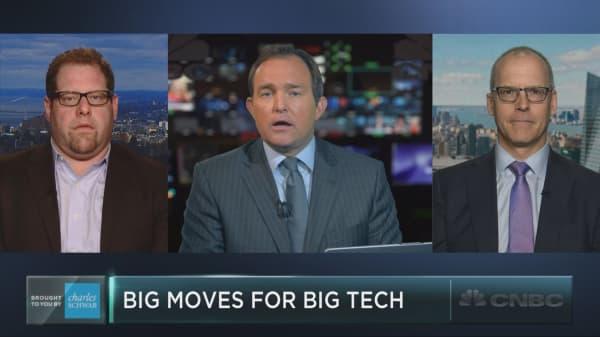 Big moves for big tech