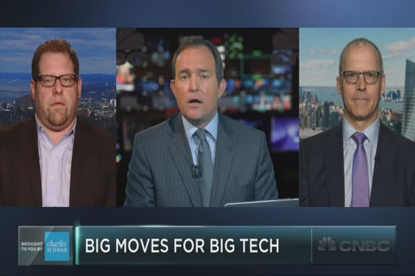 Big moves for big tech