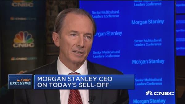 We've had extraordinarily low rates around the world: Morgan Stanley's James Gorman