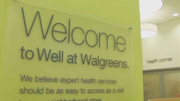 Walgreens CEO doesn't see Amazon entering pharmacy market, but says his company could compete if it does