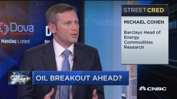 Here's why oil's bottom isn't in: Barclays