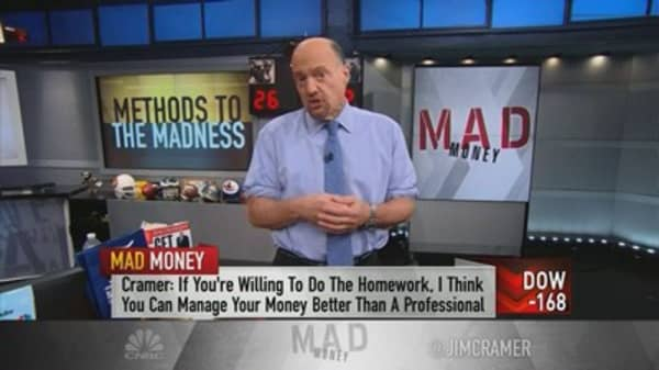 How Cramer picks a stock