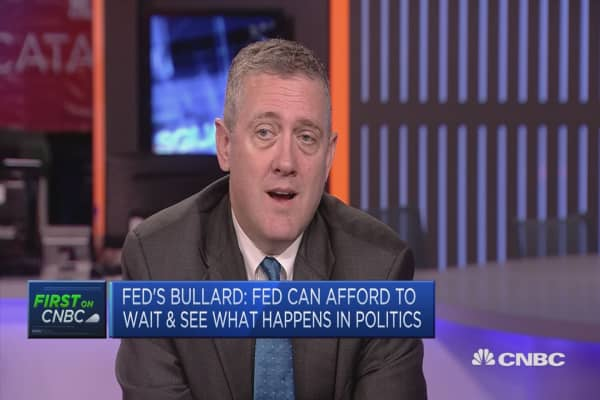 Phillips Curve models have never been great: Fed's Bullard