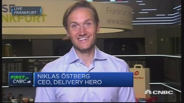IPO a fantastic day for investors and whole European tech scene: Delivery Hero CEO