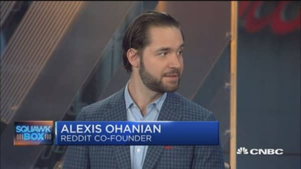 Amazon's Whole Foods merger a 'wake up call' for grocers: Reddit's Alexis Ohanian