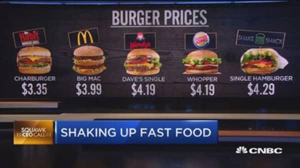 Shake Shack CEO loves sunshine, burgers and breakfast