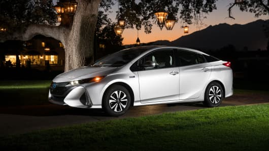 Toyota Says All Its Cars Will Have An Electric Or Hybrid Option By - All cars