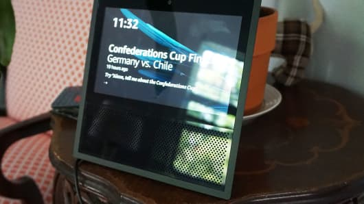 CNBC Tech: Amazon Echo Show 2