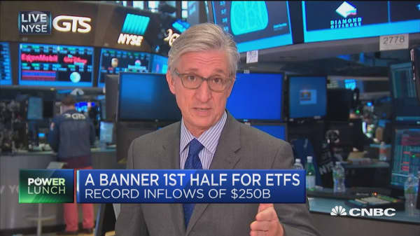 A banner first half for ETFs