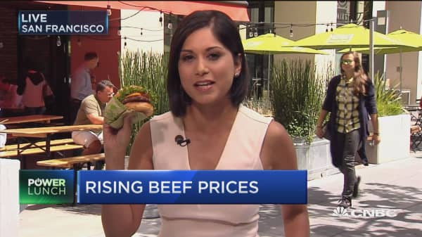 Why your 4th of July burger might cost more