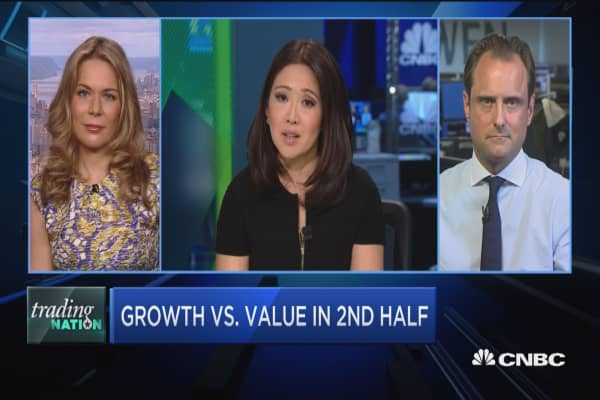 Trading Nation: Growth vs. value in the 2nd half