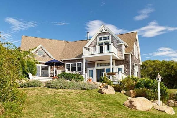 A home in Block Island, Rhode Island.
