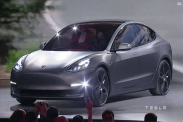 Tesla's First Mass-Market Car, the Model 3, Hits Production This Week